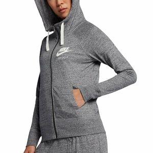 Nike Sportswear NSW Gym Vintage Full Zip Hoodie M